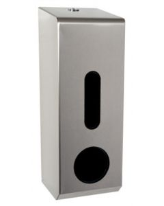 3-Toilet Roll Dispenser, Stainless Steel