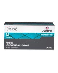 Nitrile Disposable Glove, Powder Free, Blue, Medium