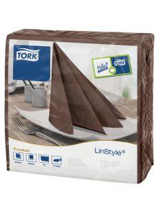 Linstyle Napkin 39cm x 39cm, Cocoa