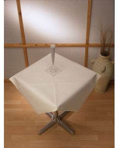 Linstyle Tablecloth 120cm x 120cm, White