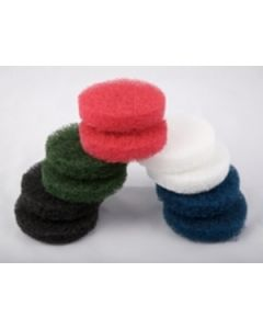 Caddy Clean - Abrasive Pads - Green. Pack of 10